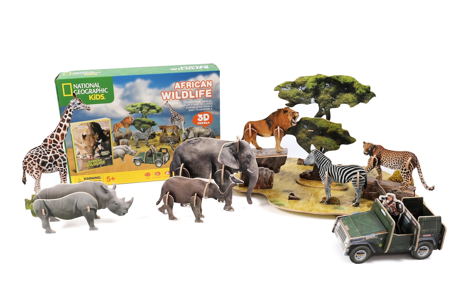 Alternate National Geographic African Wildlife 3D Puzzle image 0