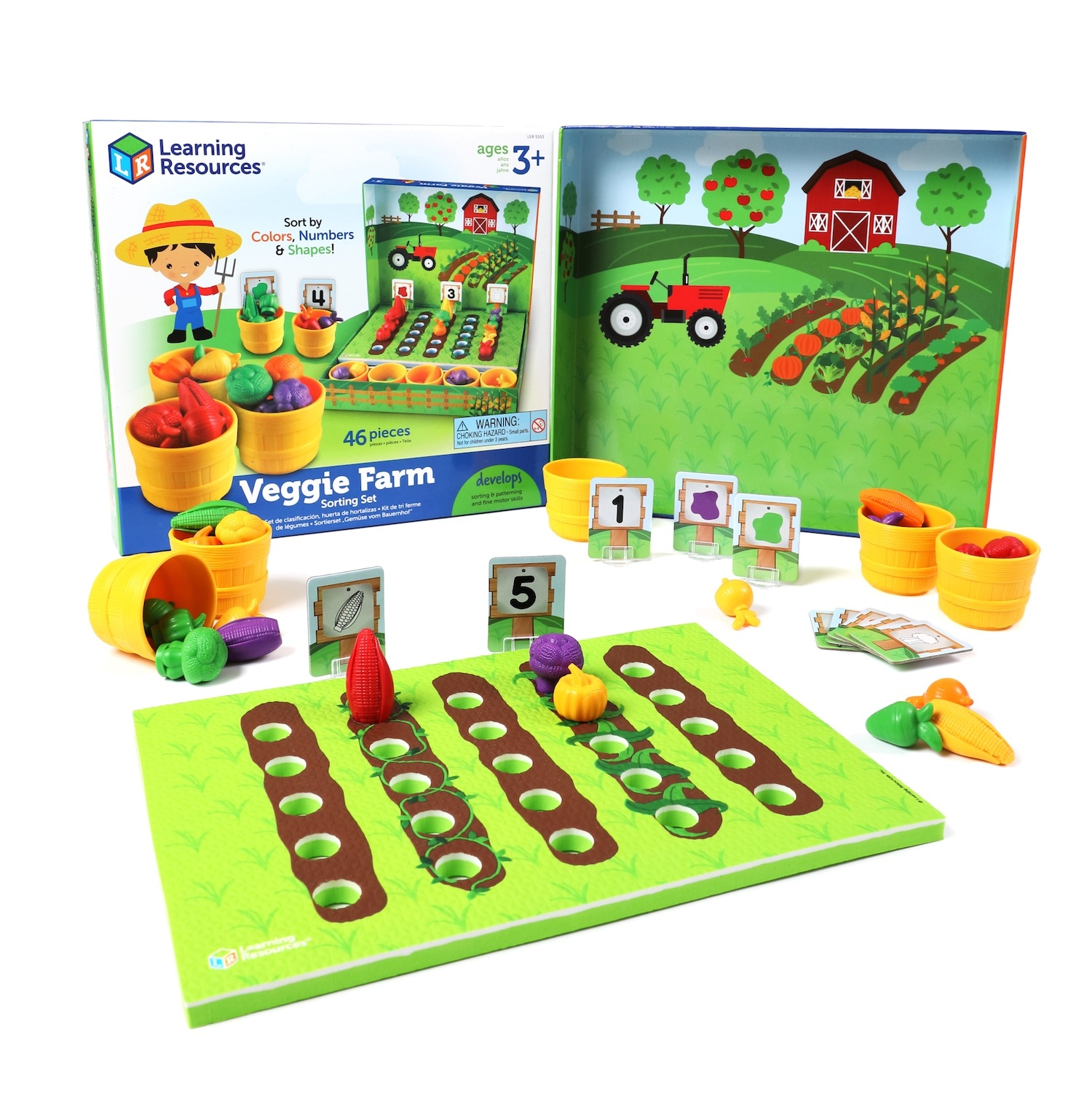Alternate Veggie Farm Sorting Set image 0