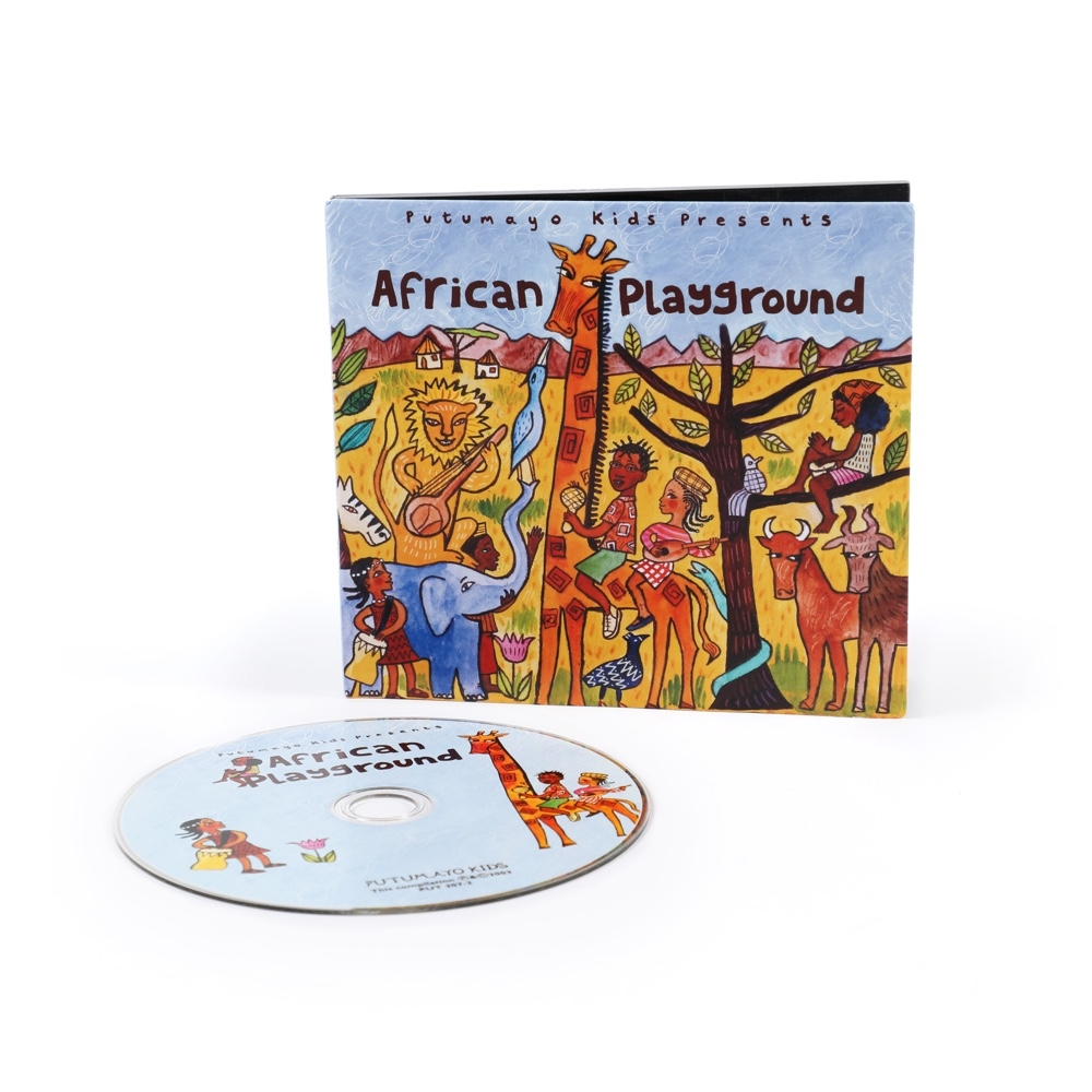 Alternate African Playground CD image 0