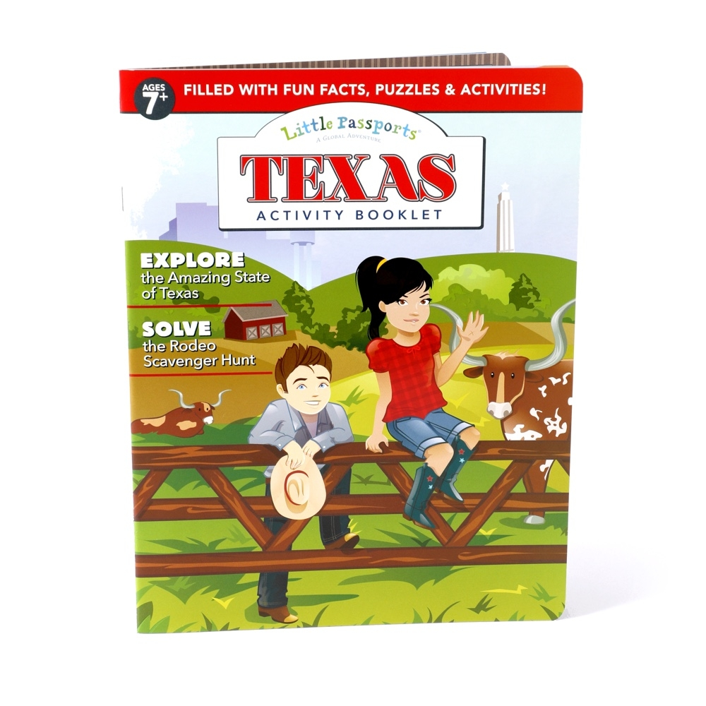 Main Texas Activity Booklet image