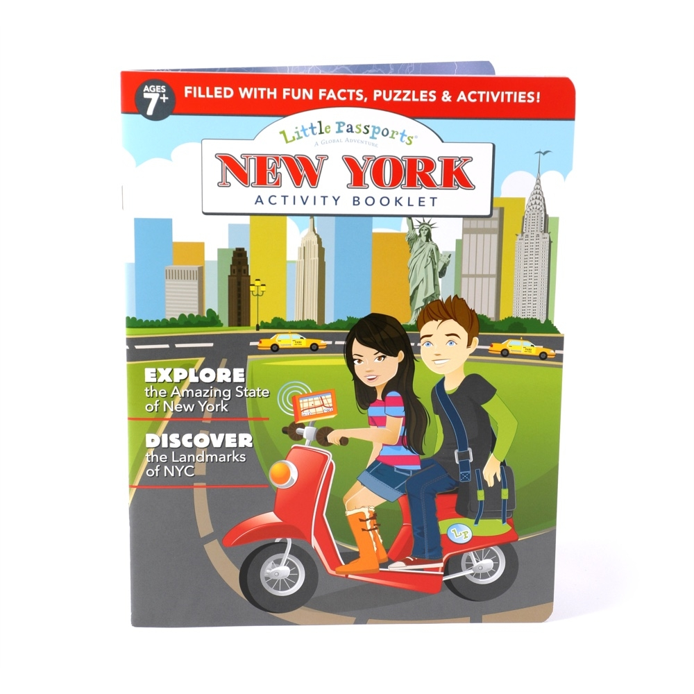 Main New York Activity Booklet image