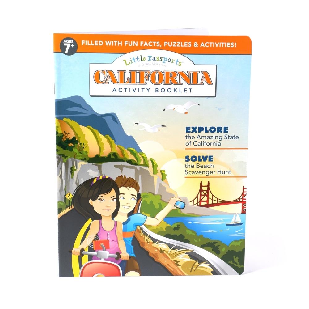 Main California Activity Booklet image