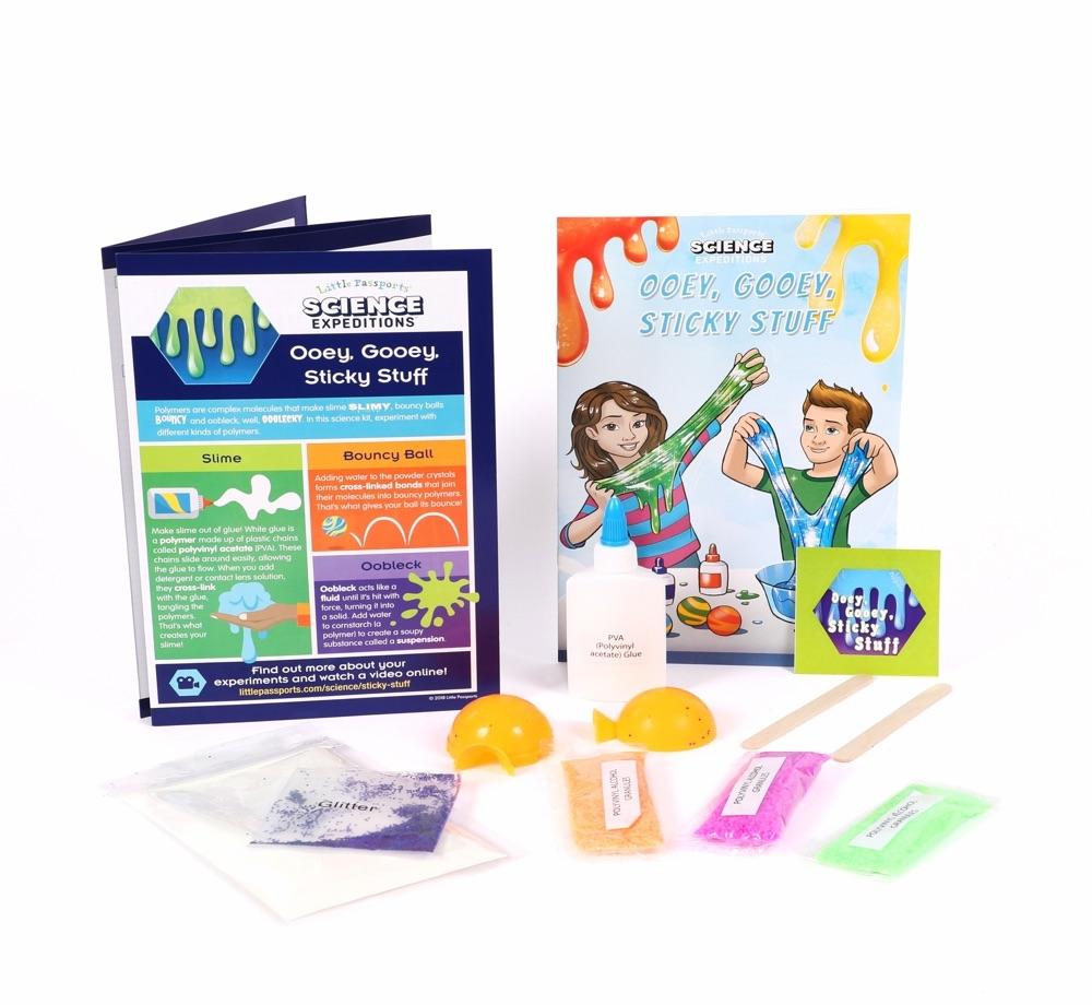 Main STEM Ooey-Gooey Sticky Stuff Kit image