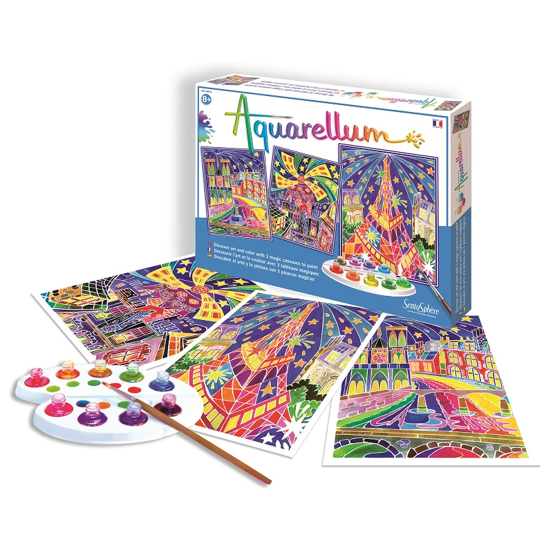 Aquarellum Parisian Painting Kit