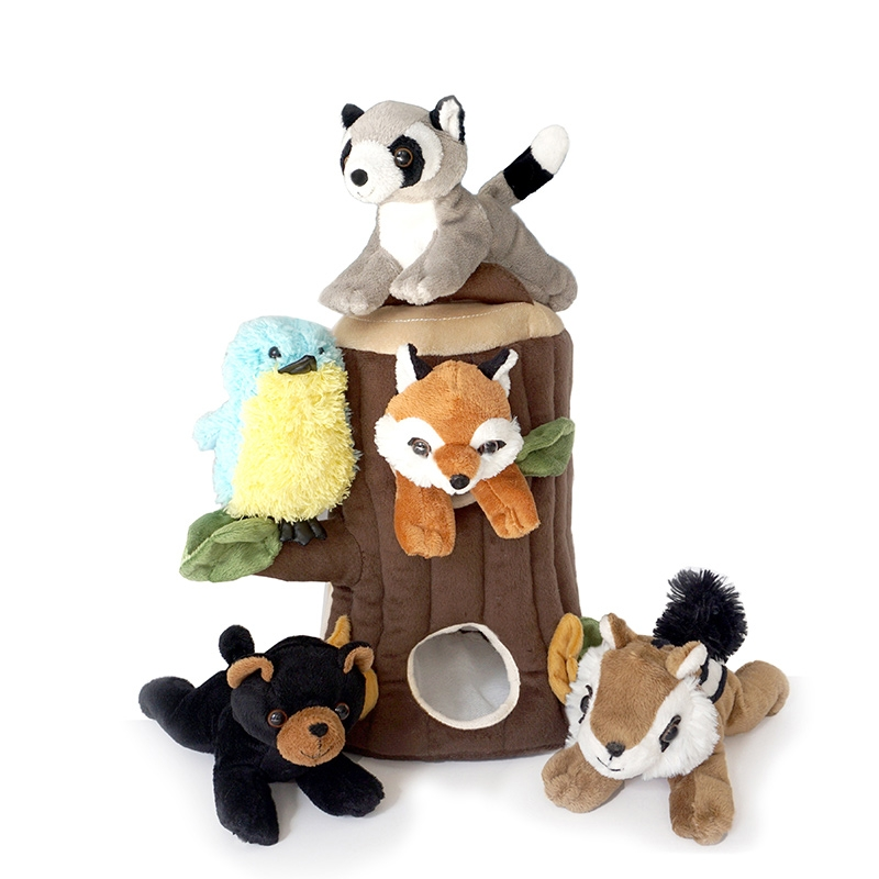Plush Treehouse with Friends