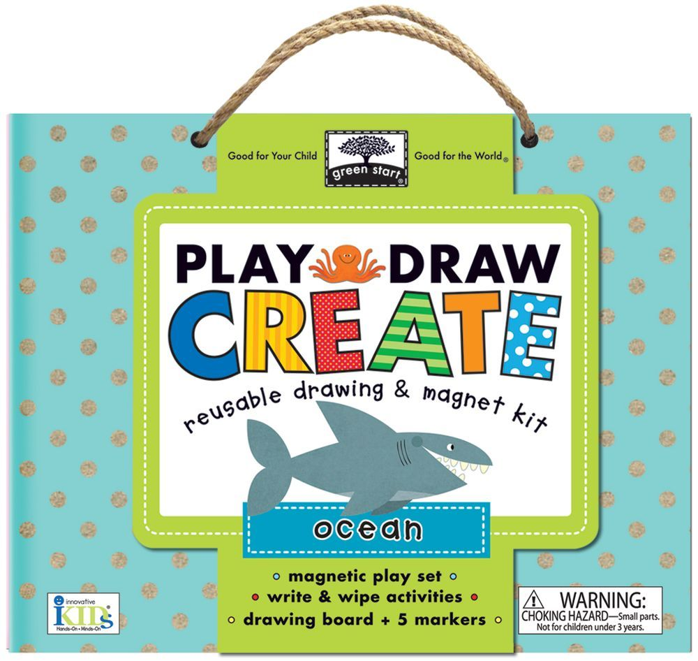 Oceans: Reusable Drawing & Magnet Kit