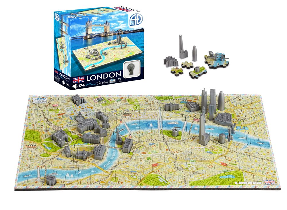 Alternate London 4D Mini Puzzle image 1