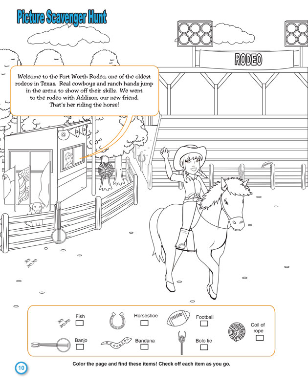 Alternate Texas Activity Booklet image 1