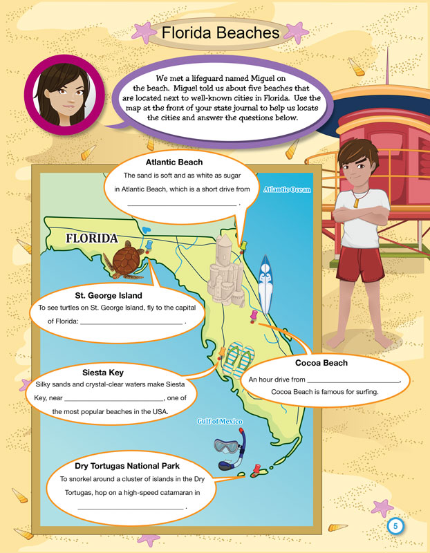 Alternate Florida Activity Booklet image 1