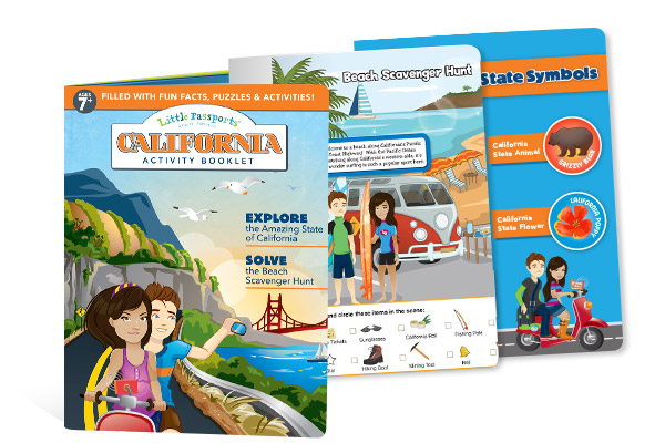 California Activity Booklet