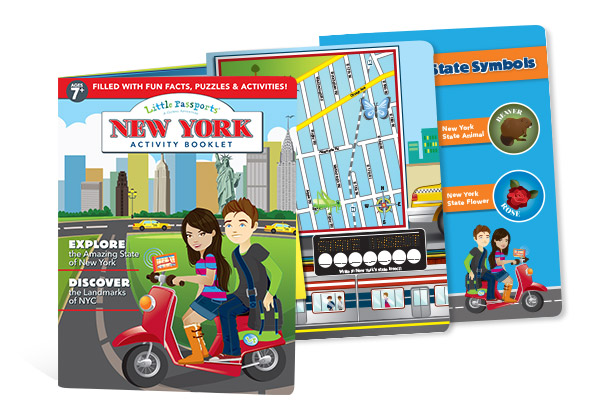 New York Activity Booklet