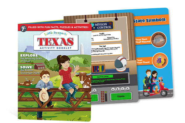 Texas Activity Booklet