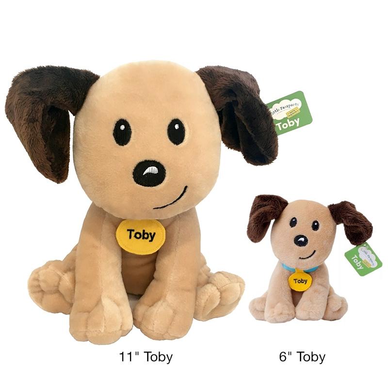 """Alternate Large 11"""" Toby Plush image 1"""