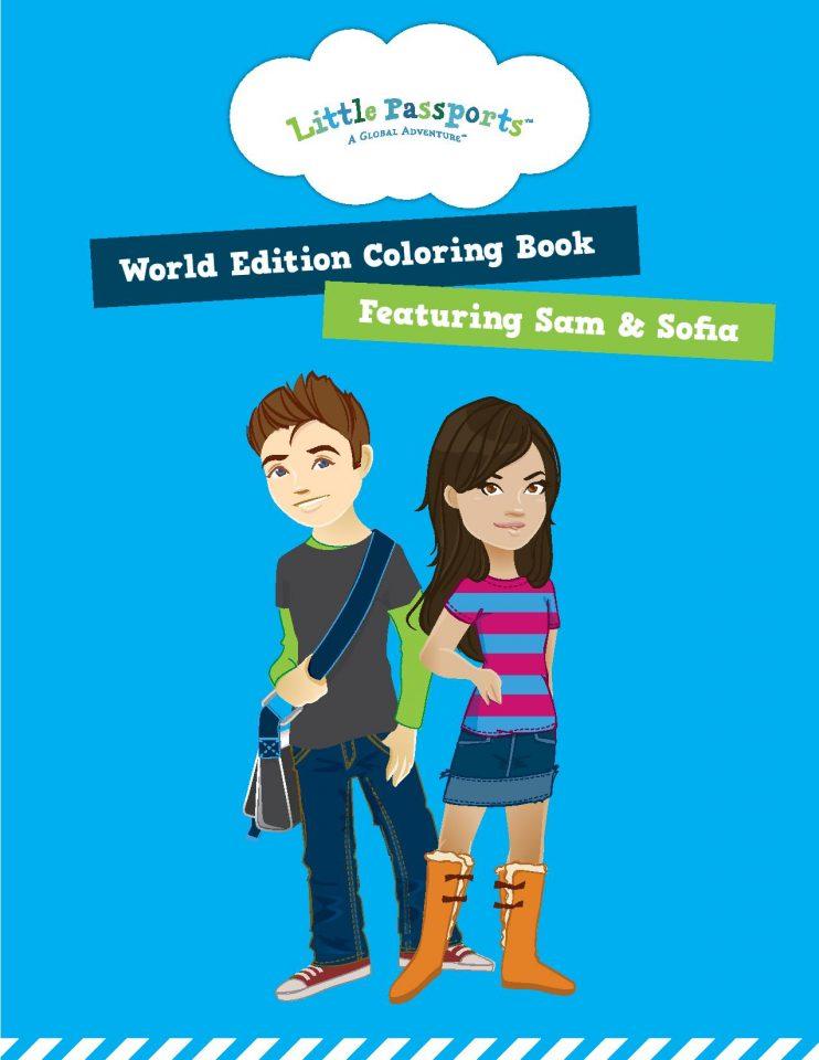 World Edition Coloring Book printable