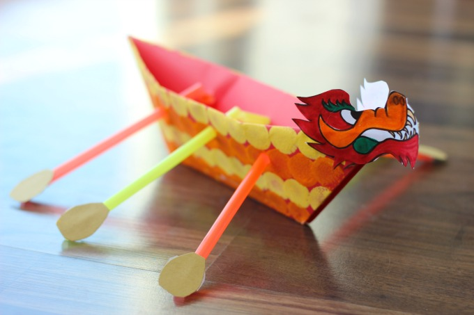 Dragon Boat activity for kids