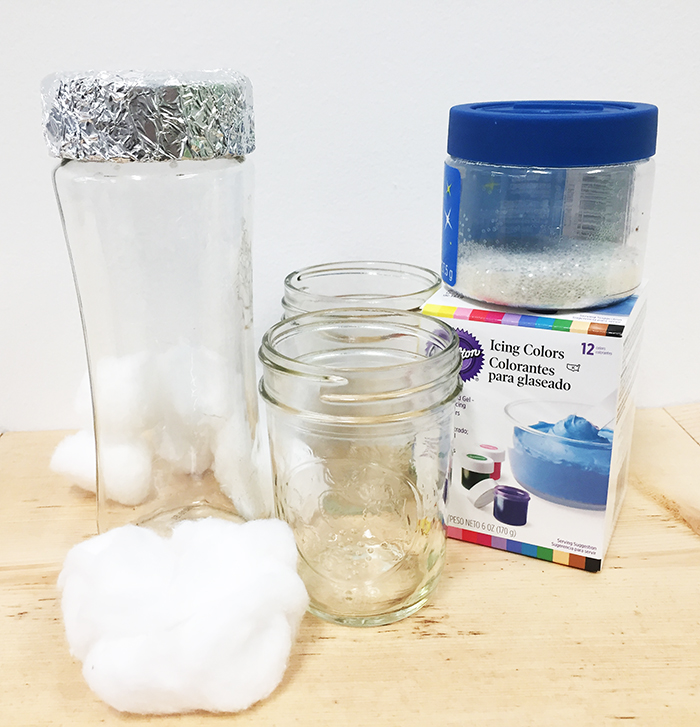 Galaxy sensory bottle supplies