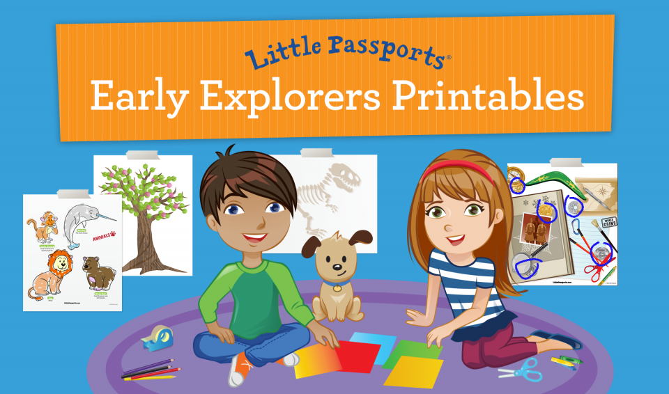 Early Explorers Printabless