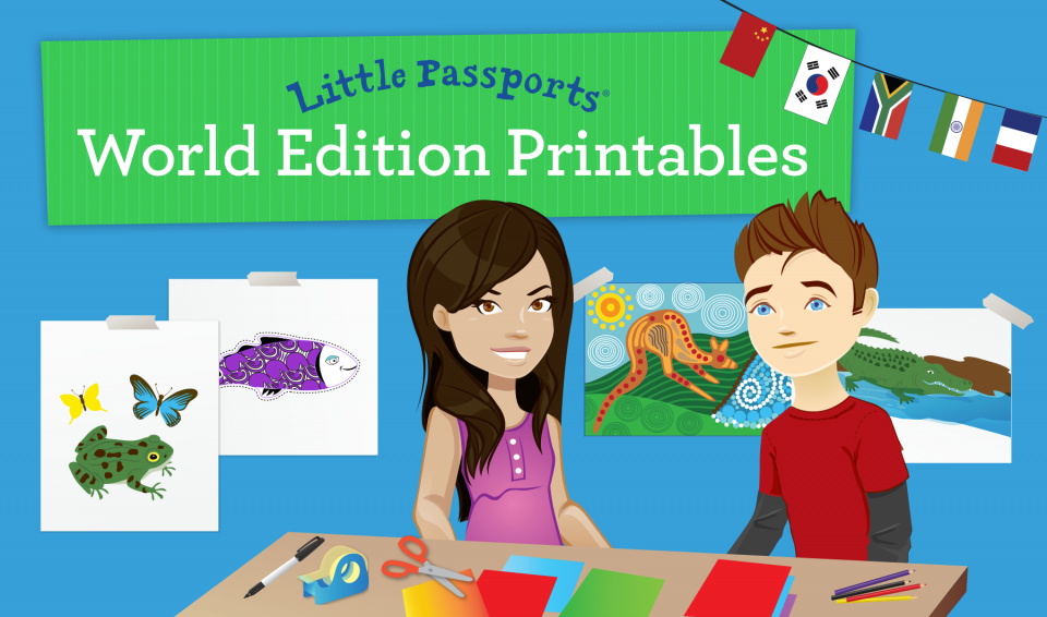 World Edition Printables