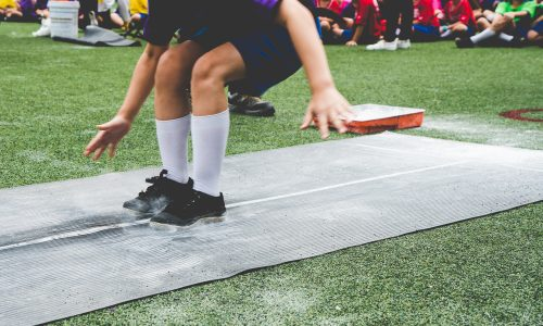 Participate in the long jump at your Little Passports summer games