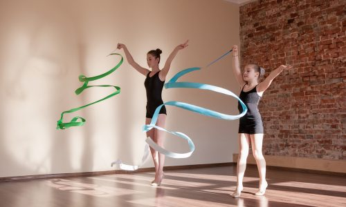 Perform a rhythmic gymnastics routine during your Little Passports summer games