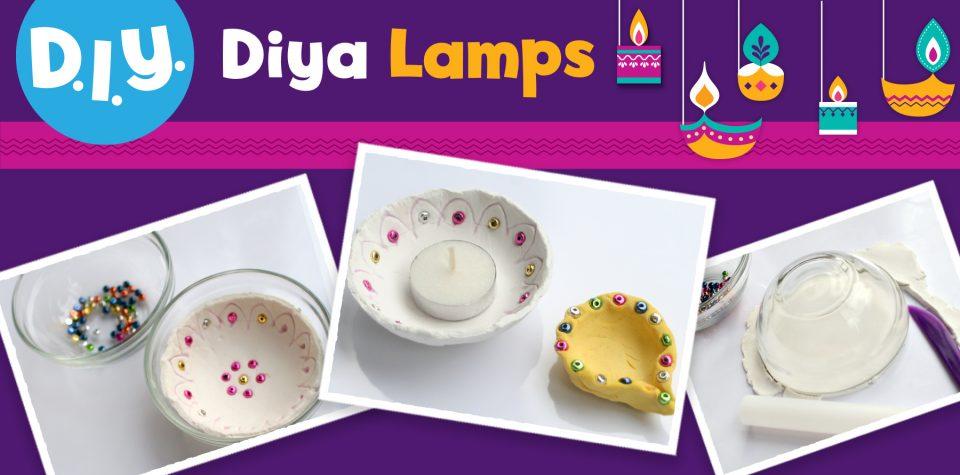 Celebrate Diwali and make DIY diya lamps with Little Passports