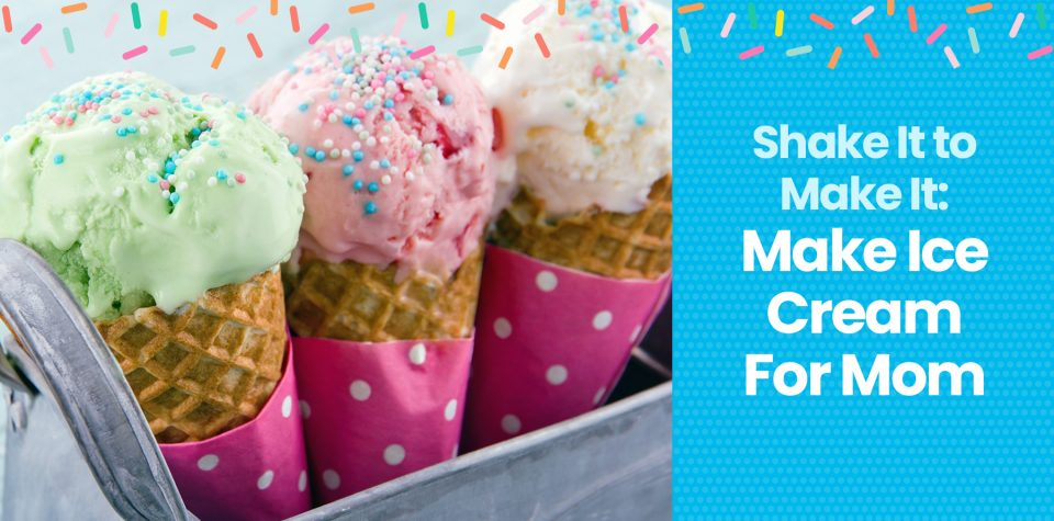 Make mom a batch of homemade ice cream on Mother's Day with this recipe from Little Passports