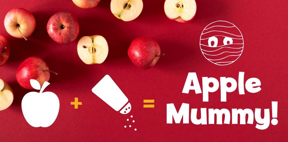 Activity: Make a mummy from an apple