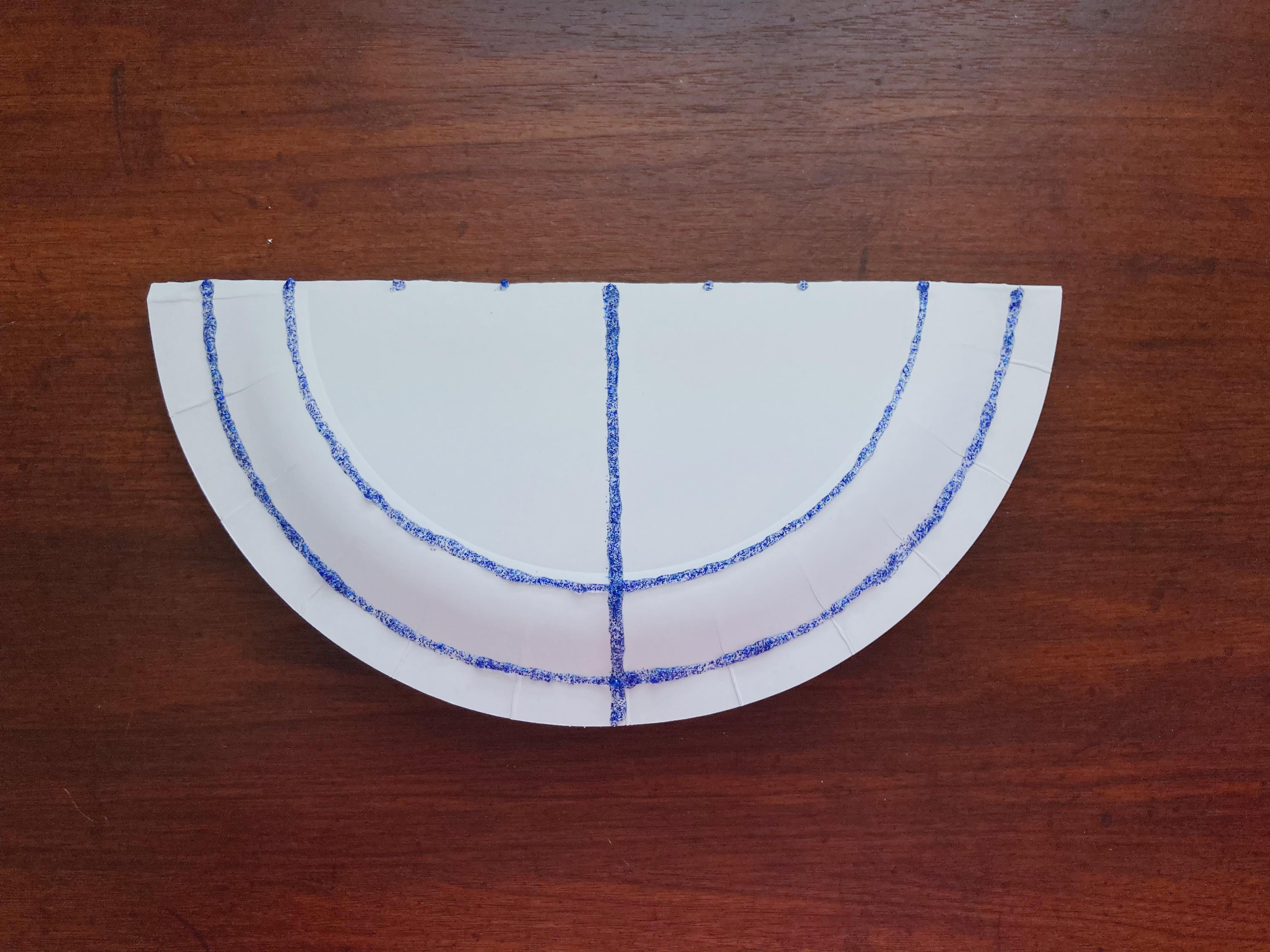 DIY menorah craft from Little Passports step 4