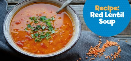 Make red lentil soup with this recipe from Little Passports