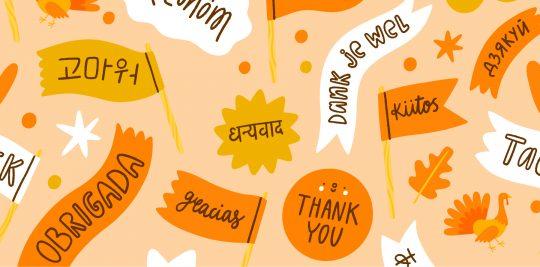 Twelve ways to Say Thanks!