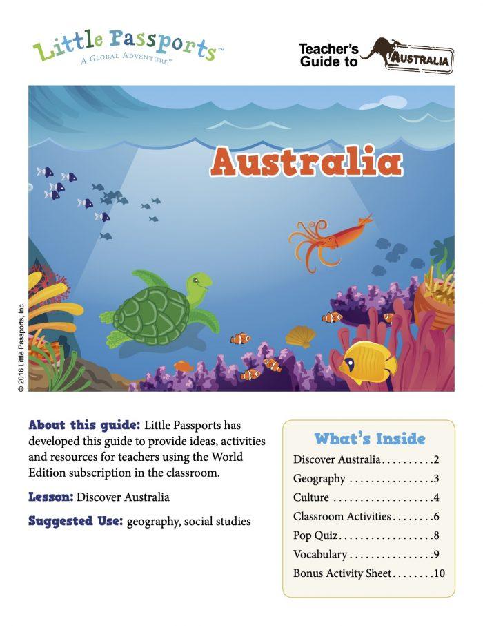 Australia-Teacher-Guide