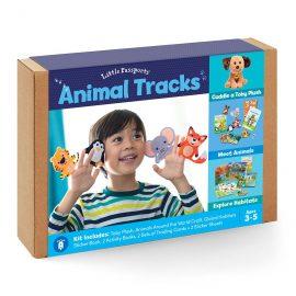Animal Tracks: Puppets, Habitats & Toby Plush Image