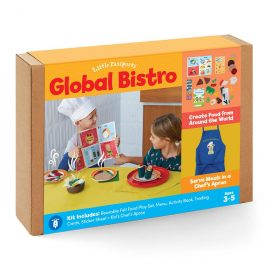 Global Bistro: Play Food & Chef's Apron Image
