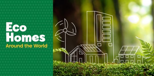Learn about eco homes around the world with Little Passports