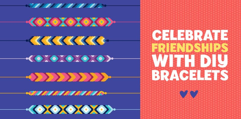 Make friendship bracelets with this craft from Little Passports