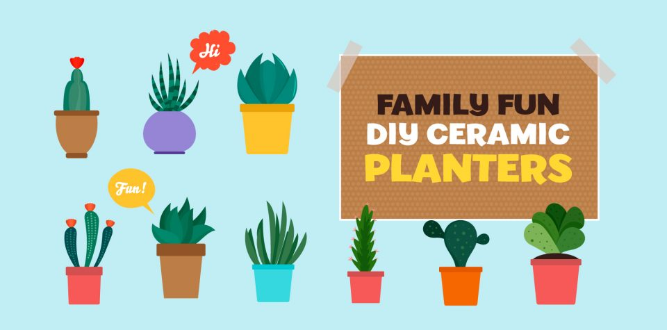 Make DIY planters at home with this craft from Little Passports
