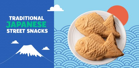 Make taiyaki with this recipe from Little Passports