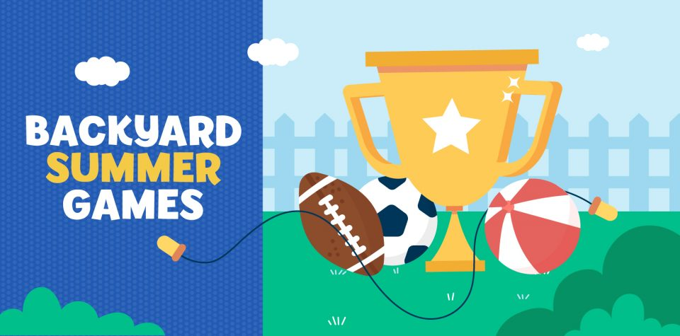 Hold your own backyard summer games with Little Passports