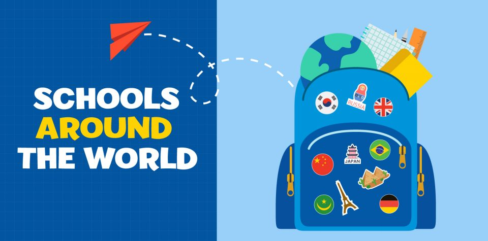 Learn about what school looks like around the world with Little Passports