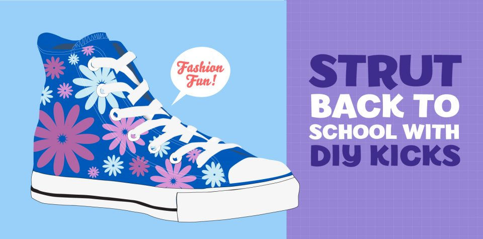 Create customized shoes with this craft from Little Passports
