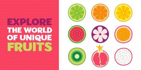 Tour the world through unique fruits with Little Passports