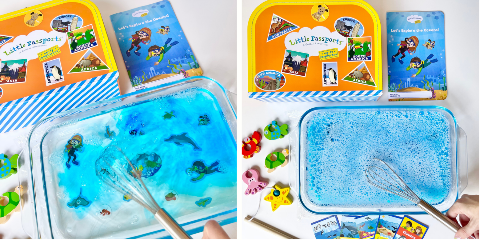 Early Explorers Look Under the Sea Activity